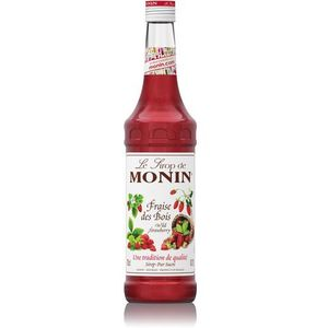 Monin Syrop poziomkowy- wild strawberry 700ml (3052911169380)