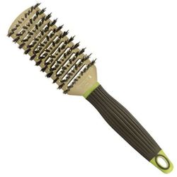 Macadamia  tunnel vent brush - szczotka do czesania z włosiem dzika