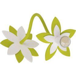 Kinkiet Nowodvorski Flowers 6897 kwiatki lampa ścienna 1x35W GU10 zielony (5903139689793)