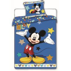 Jerry Fabrics Pościel bawełniana Mickey Stars, 140 x 200 cm, 70 x 90 cm