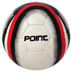 Piłka nożna Point - biały/czarny/czerwony - produkt z kategorii- Piłka nożna