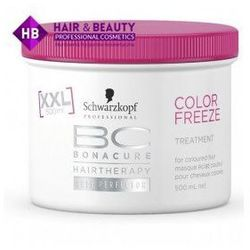 SCHWARZKOPF BC BONACURE Color Freeze Maska do Wosów Farbowanych 500ml z kategorii Odżywianie włosów