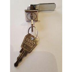 Zamek krzywkowy front kwadrat c102 do szafy pracowniczej - c 102 marki Euro locks