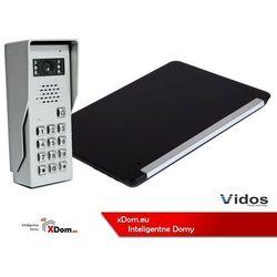 Vidos Zestaw wideodomofonu stacja bramowa z szyfratorem monitor 7'' s50d_m690bs2