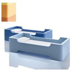 Łóżko pojedyncze Bunky jasnopomarańczowe, mt800_1652c