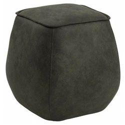 Welurowa pufa kwadratowa do siedzenia - Arktos 4X, SCM196043
