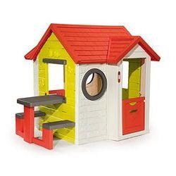 Smoby Domek ogrodowy my house + stolik