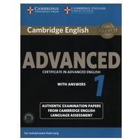 Cambridge English Advanced 1. Podręcznik z Kluczem + CD