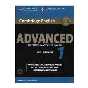 Cambridge English Advanced 1. Podręcznik z Kluczem + CD, praca zbiorowa