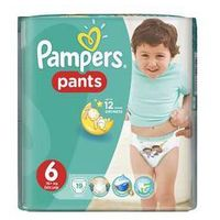 Pieluchomajtki  carry pack vel. 6, 19szt marki Pampers