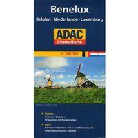 Benelux. ADAC LanderKarte 1:300 000 (2 str.)