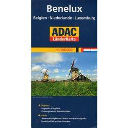 Benelux. ADAC LanderKarte 1:300 000 (ilość stron 2)