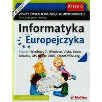 Informatyka Europejczyka. Zeszyt ćwiczeń do zajęć komputerowych dla szkoły podstawowej, kl (2014)