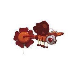 Kinkiet MOTYL czerwona/ pomarańczowa (5908218911796)