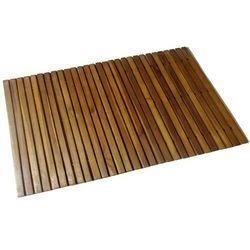 mata prysznicowa z drewna akacjowego (80 x 50 cm) marki Vidaxl