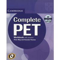 Complete PET Workbook (zeszyt ćwieczeń) with Answers with Audio CD, May Peter, Thomas Amanda