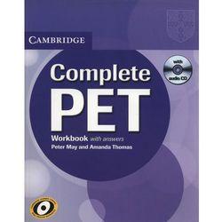 Complete PET Workbook (zeszyt ćwieczeń) with Answers with Audio CD (May Peter, Thomas Amanda)