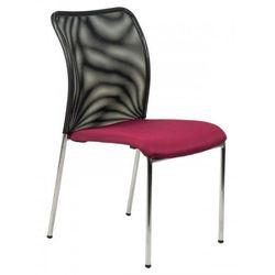 Stema - hn Krzesło konferencyjne hn-7502ch/bordo. stelaż chromowany. krzesło biurowe