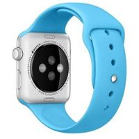 silikonowy do apple watch 42 mm niebieski marki Apple