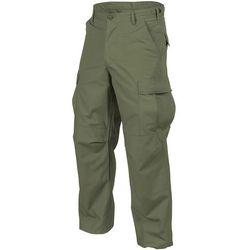 spodnie Helikon BDU Cotton Ripstop olive green LONG (SP-BDU-CR-02), kolor zielony, od rozmiaru S