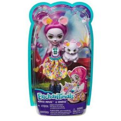 Lalka enchantimals mayla mouse fondue +darmowa dostawa przy płatności kup z twisto marki Mattel