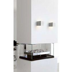 Nowodvorski Kinkiet cube white 9cm sześcian 5266 biały + rabat w koszyku!!! - biały (5903139526692)