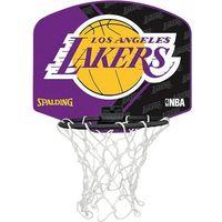 Mini tablica do gry w koszykówkę SPALDING L.A. Lakers