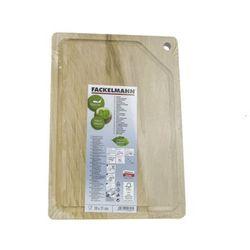 Deska kuchenna drewniana 30 x 21 cm stołowa 21316 - drewno \ 30 cm marki Fackelmann