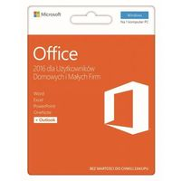 office 2016 dla użytkowników domowych i małych firm 32/64 bit pl wyprodukowany przez Microsoft