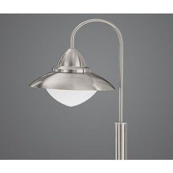 Lampa stojąca ogrodowa sidney 1x60w e27 satyna 120 cm ip44 83969 marki Eglo