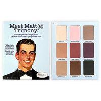 TheBalm Meet Matt(e) Trimony | Paleta 9 matowych cieni do powiek z lusterkiem - 21,6g