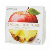 Deser jabłko-ananas bio 200 g -  marki Clearspring