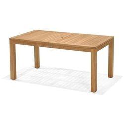 Stół prostokątny z drewna tekowego rinjani 160x90 marki Scancom