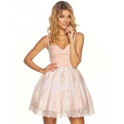 Sukienka Florentina w kolorze różowym