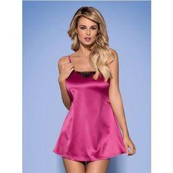 Satinia babydoll różowe XXL z kategorii Pozostała bielizna erotyczna