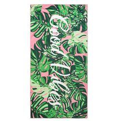 Ręcznik plażowy TROPICAL 80x160 wzór tropikalne liście