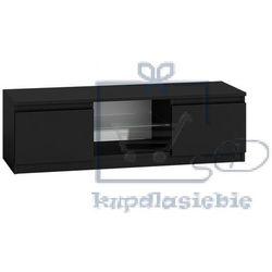 Szafka RTV Bono 120cm Czarny połysk (5902838461891)