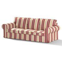 Dekoria  pokrowiec na sofę ektorp 3-osobową, nierozkładaną 141-12, sofa ektorp 3-osobowa