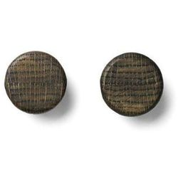 Menu Wieszaki knobs, 2 szt, czarny jesion -