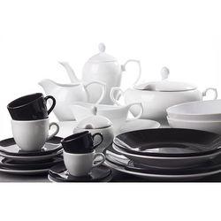 sortido - porcelanowa zastawa stołowa obiadowo-kawowa 50 części na 6 osób marki Oxford