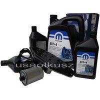 Olej  atf+4 oraz filtry skrzyni biegów dodge dakota 2000- marki Mopar