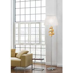 Lampa podłogowa denis 1x60w e27 chrom/złoty 51-23506 marki Candellux