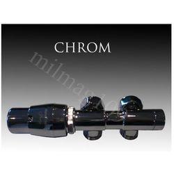 Zestaw zaworów grzejnikowych termostatycznych TWINS lewy CHROM - oferta (056d40746755d304)