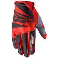 Rękawice AXO SX czarno-czerwone