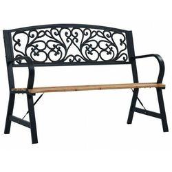 Klasyczna ławka ogrodowa - Nelda, vidaxl_47940