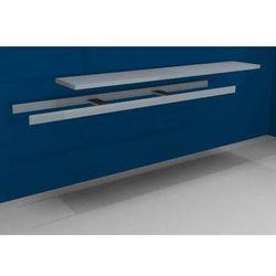 Unbekannt Dodatkowa półka w komplecie z trawersami i półką stalową, szer. 2500 mm, gł. 500