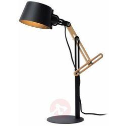 kreen lampa biurkowa czarny, 1-punktowy - nowoczesny - obszar wewnętrzny - kreen - czas dostawy: od 10-14 dni roboczych marki Lucide