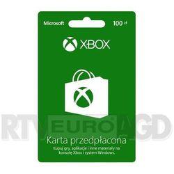 Doładowanie Xbox Live 100 PLN - produkt w magazynie - szybka wysyłka! z kategorii Kody i karty pre-paid