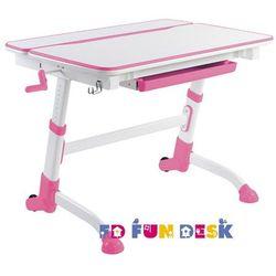 Volare Pink - Ergonomiczne, regulowane biurko dziecięce FunDesk, FD-VOLARE-P