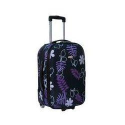 Walizka mała fioletowe kwiaty z kategorii skrzynki i walizki narzędziowe